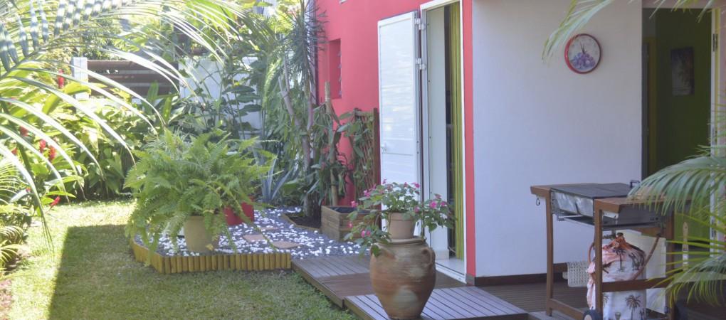 Le jardin tropical pour se reposer